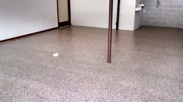 Uneek basement flooring