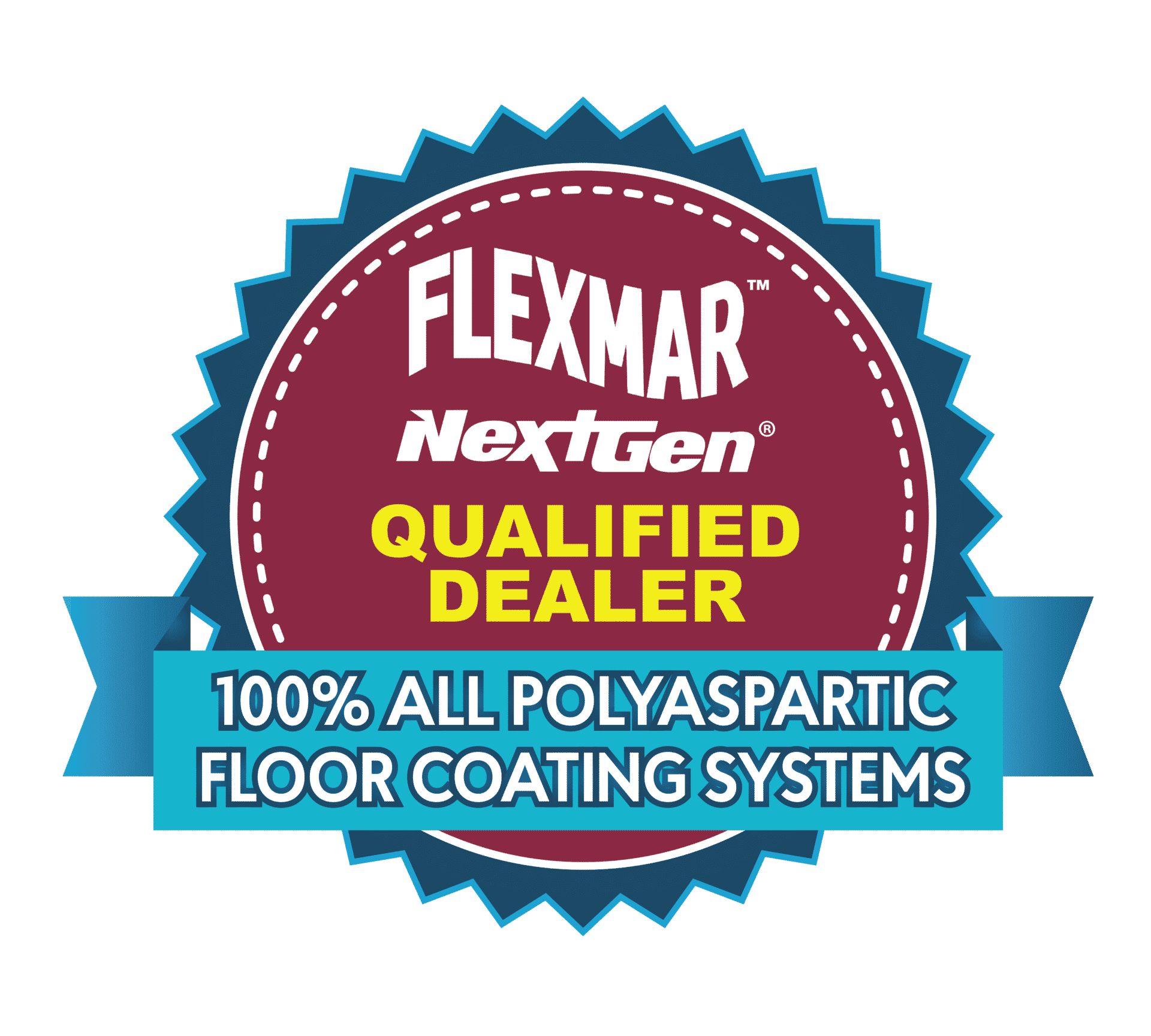 flexmar qualified dealer badge