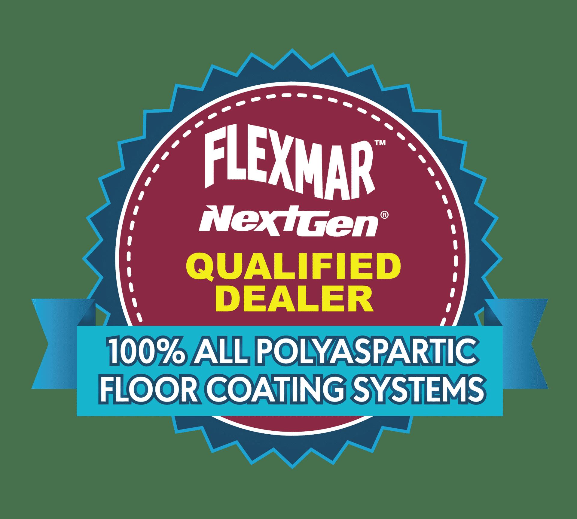 flexmar qualified dealer badge